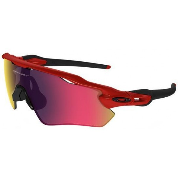 c267c84b78915 Knockoff Oakley Sunglasses Radar EV Path Prizm Polishing Red Black ...