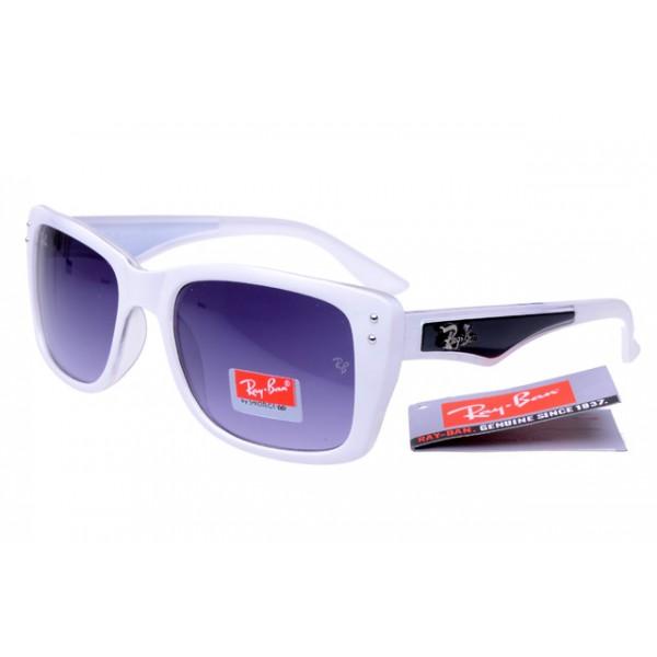 fc4ce9db8f Fake Ray-Ban RB4148 Caribbean Sunglasses Polishing White Black Frame ...