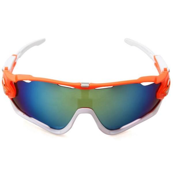 1a97d83542 Wholesale Replica Oakley Jawbreaker Sunglasses Orange White Frame ...