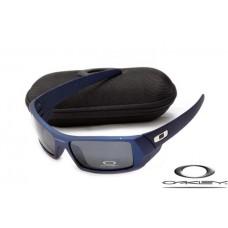 85d9ebc50cf01 Oakley Gascan Sunglasses Blue Frame Gray Iridium L..
