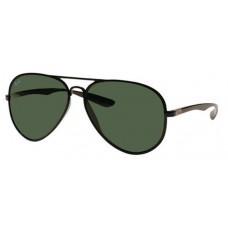 adc5fa38967 Ray-Ban RB4180 Aviator Sunglasses Black Frame Clas.