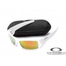 7d88d69070a1a Oakley Gascan Sunglasses White Frame Fire Yellow I..